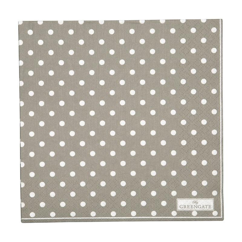 a13954x.jpg - Servetter Spot, Grey - Elsashem Butiken med det lilla extra...