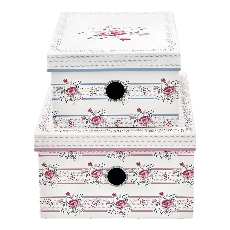 a13960x.jpg - Storage box Fiona, Pale pink set of 2 - Elsashem Butiken med det lilla extra...