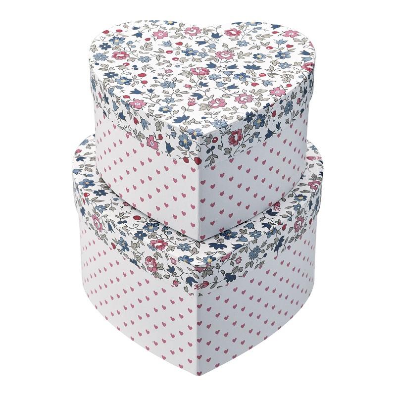 a13962x.jpg - Storage box heart Ruby, Petit white set of 2 - Elsashem Butiken med det lilla extra...