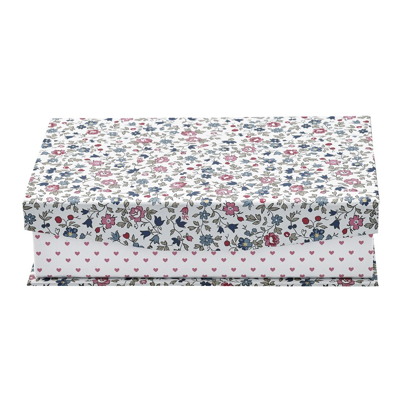 a13963x.jpg - Storage box Ruby, Petit white w/divider - Elsashem Butiken med det lilla extra...