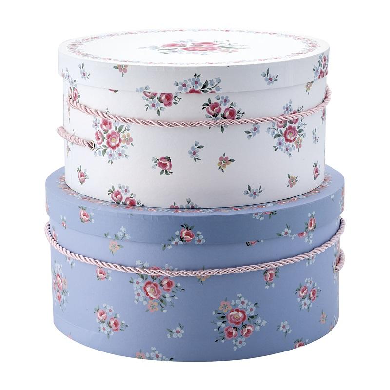 a13964x.jpg - Storage box round Nicoline, White set of 2 - Elsashem Butiken med det lilla extra...