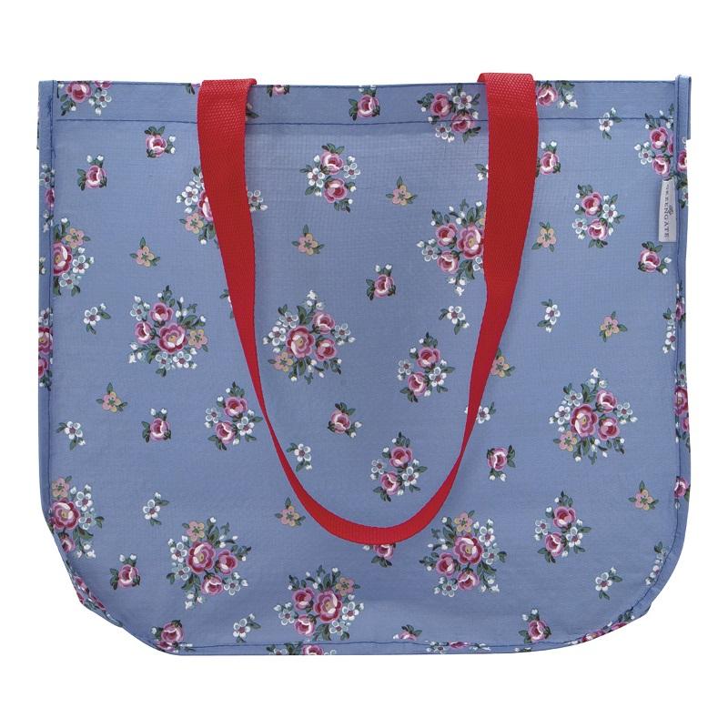 a13971x.jpg - Shopper bag Nicoline, Dusty blue - Elsashem Butiken med det lilla extra...