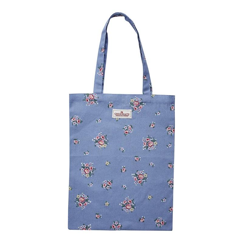 a13974x.jpg - Bag cotton Nicoline, Dusty blue - Elsashem Butiken med det lilla extra...