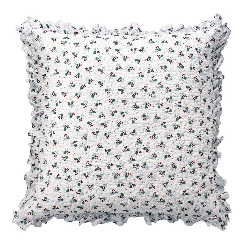 a13996x.jpg - Kuddfodral Joselyn, White w/frill - Elsashem Butiken med det lilla extra...