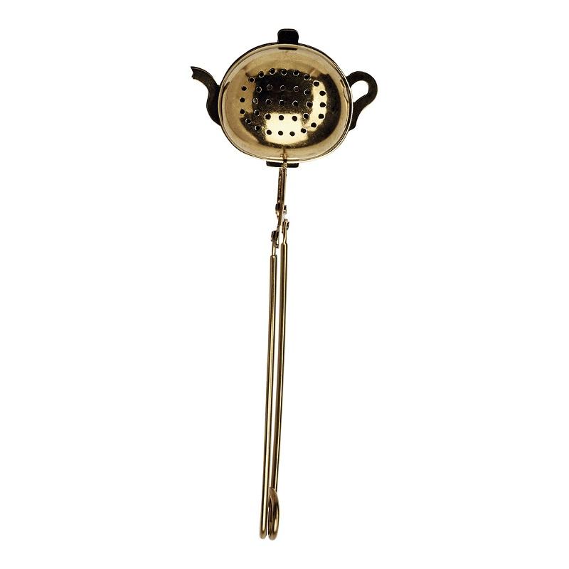 a14006x.jpg - Tea infuser Teapot, Gold - Elsashem Butiken med det lilla extra...