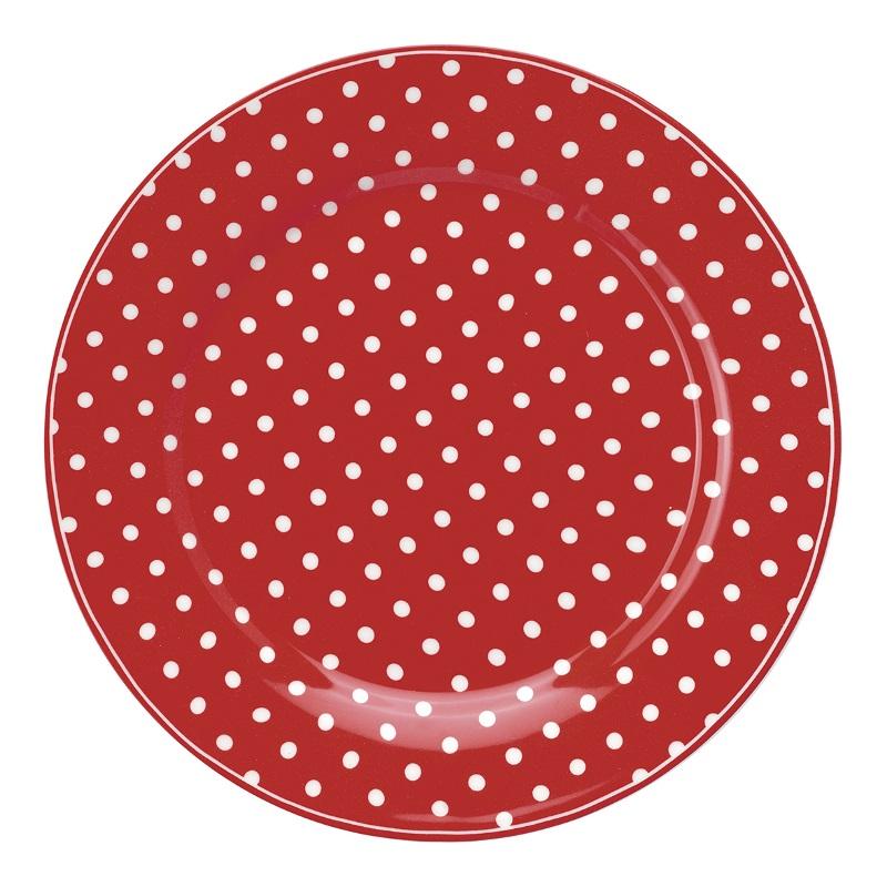 a14066x.jpg - Assiett Spot, Red - Elsashem Butiken med det lilla extra...