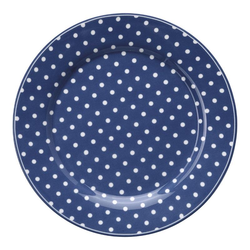 a14067x.jpg - Assiett Spot, Blue - Elsashem Butiken med det lilla extra...