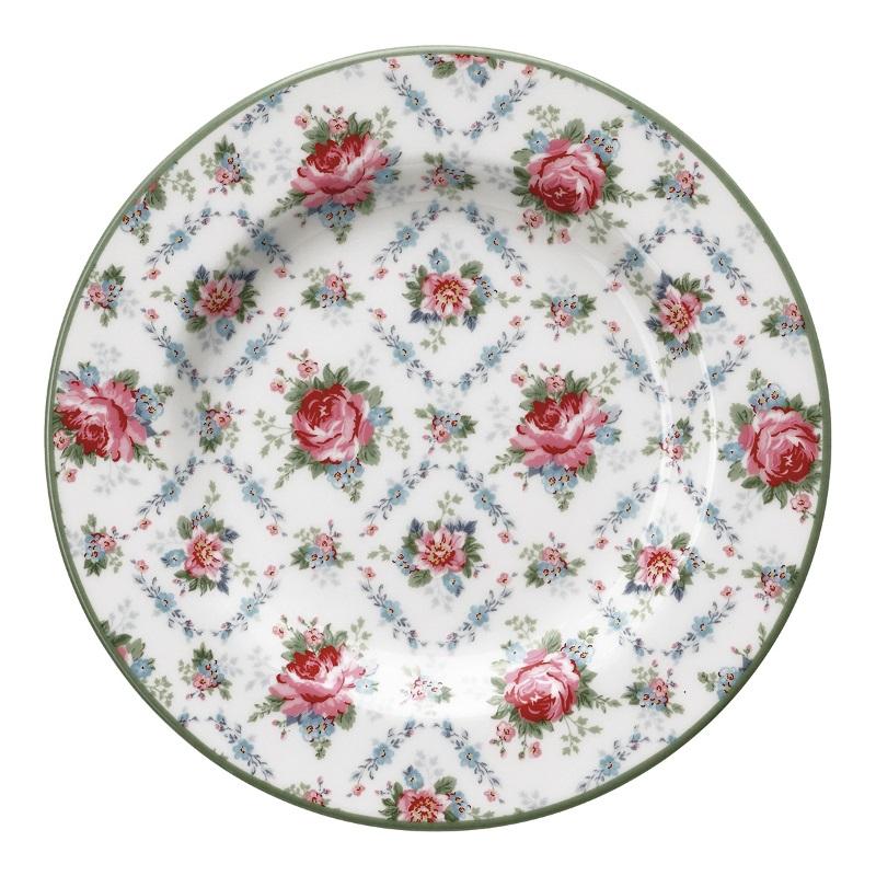 a14070x.jpg - Liten assiett Malene, Petit white - Elsashem Butiken med det lilla extra...