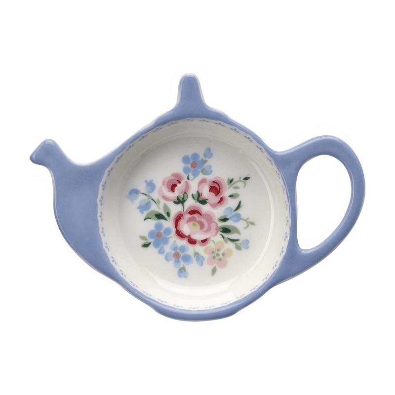 a14082x.jpg - Teabag holder Nicoline, White - Elsashem Butiken med det lilla extra...