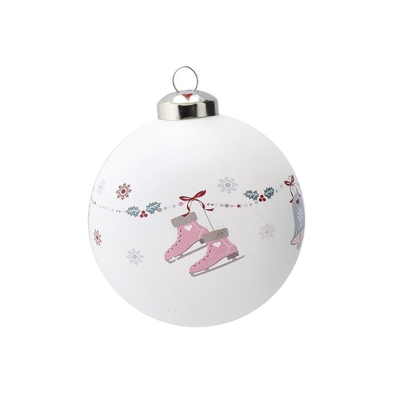 a14102x.jpg - Julgranskula Jingle bell, White - Elsashem Butiken med det lilla extra...