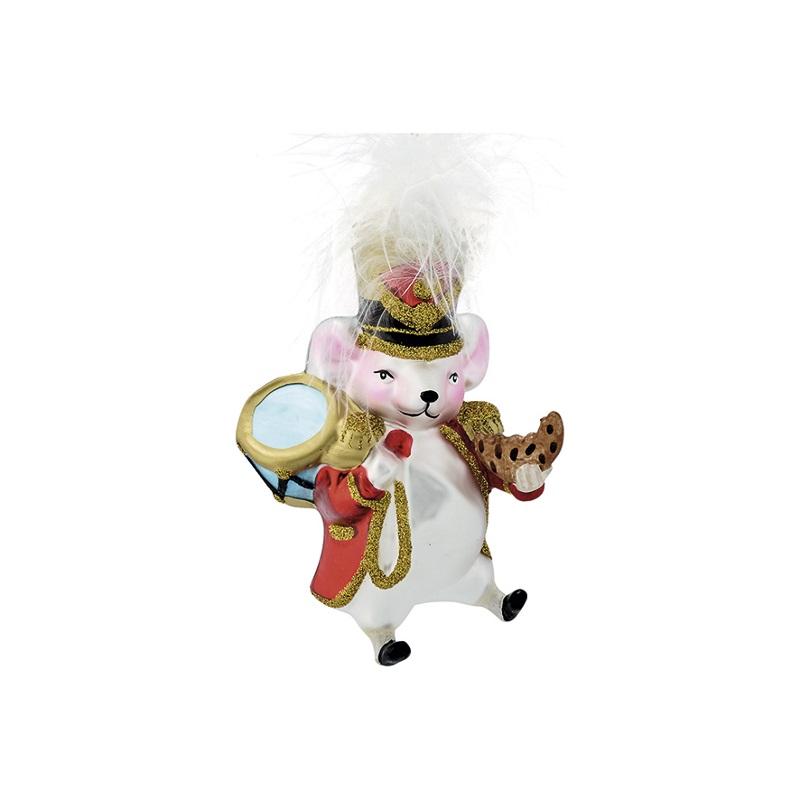 a14112x.jpg - Julgranskula Mouse, White - Elsashem Butiken med det lilla extra...