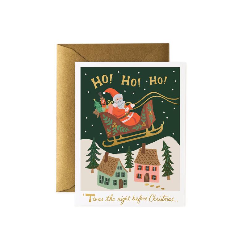 a14176x.jpg - Kort med kuvert, Christmas Delivery - Elsashem Butiken med det lilla extra...