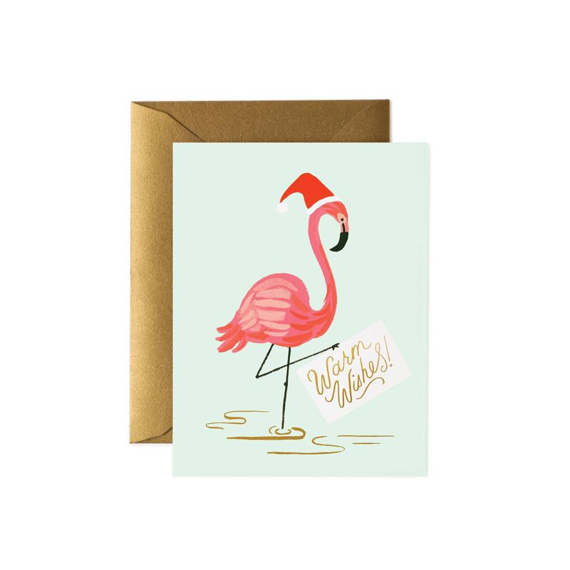 a14177x.jpg - Kort med kuvert, Holiday Flamingo - Elsashem Butiken med det lilla extra...