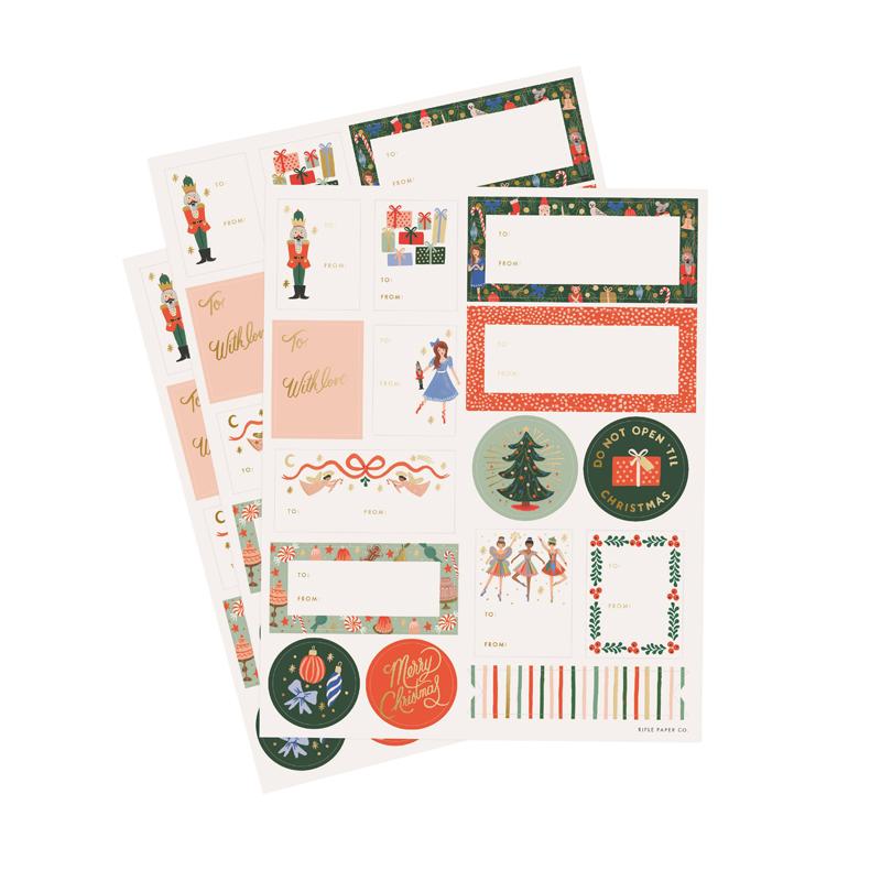 a14178x.jpg - Etiketter, Nutcracker Stickers & Lables - Elsashem Butiken med det lilla extra...
