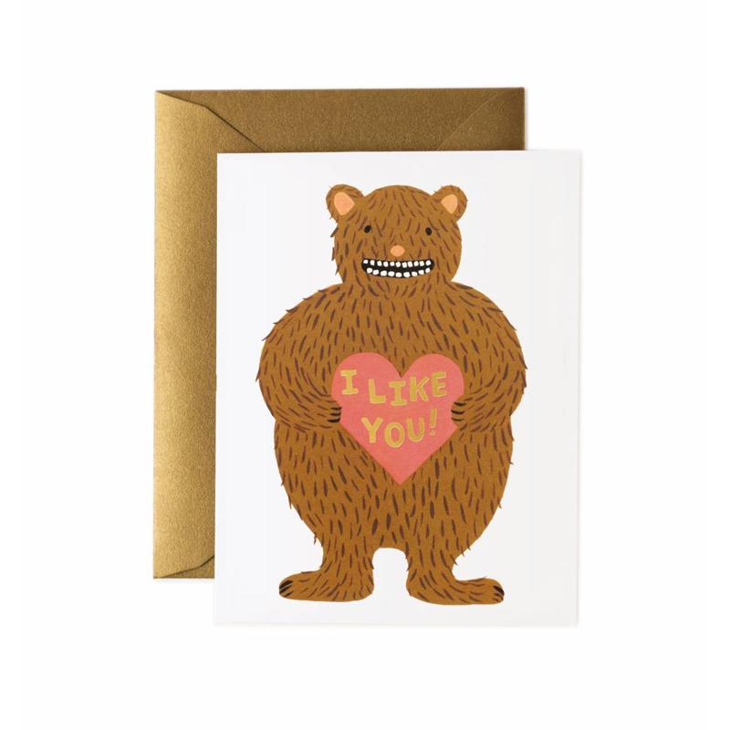 a14180x.jpg - Kort med kuvert, I Like You - Elsashem Butiken med det lilla extra...