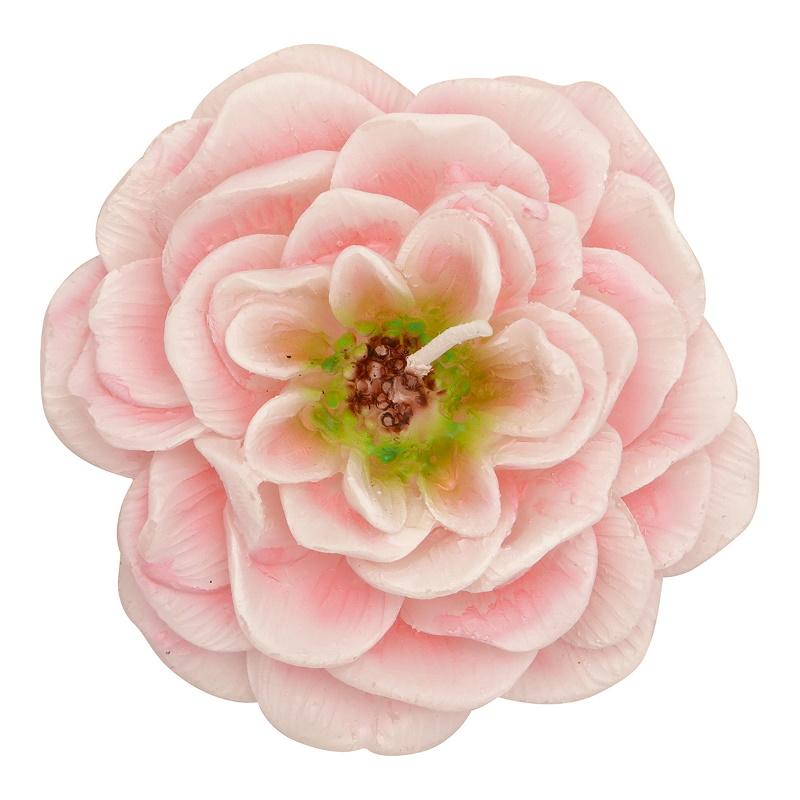 a14195x.jpg - Candle Rose, Pale pink set of 2 - Elsashem Butiken med det lilla extra...