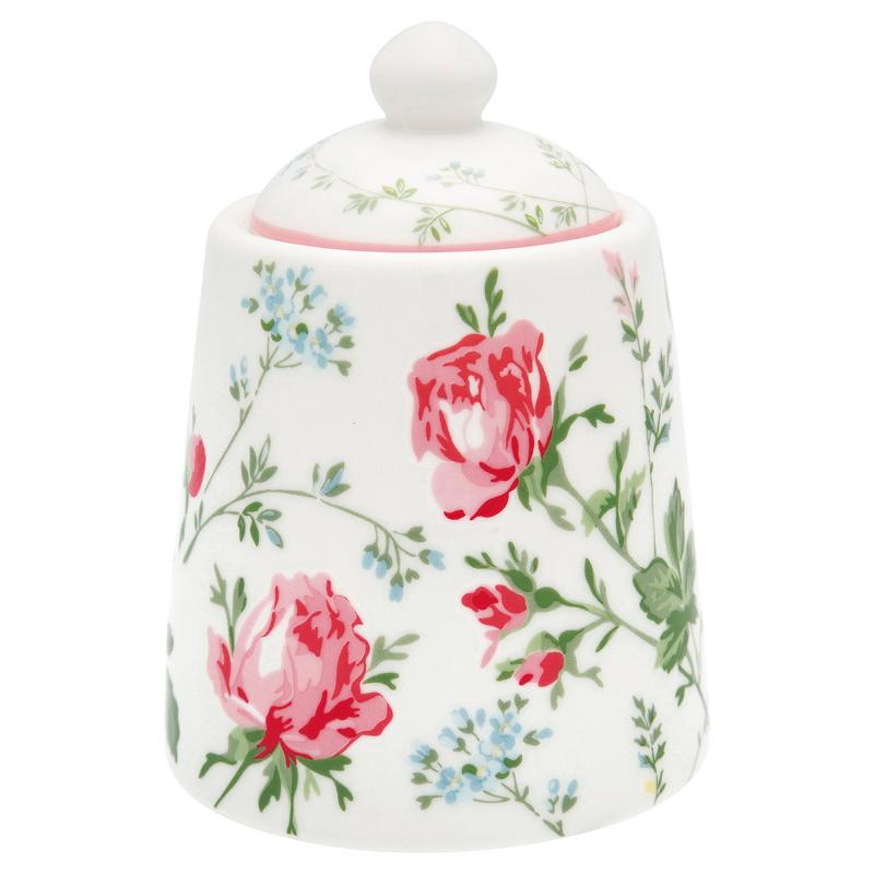 a14367x.jpg - Sockerskål Constance, White - Elsashem Butiken med det lilla extra...