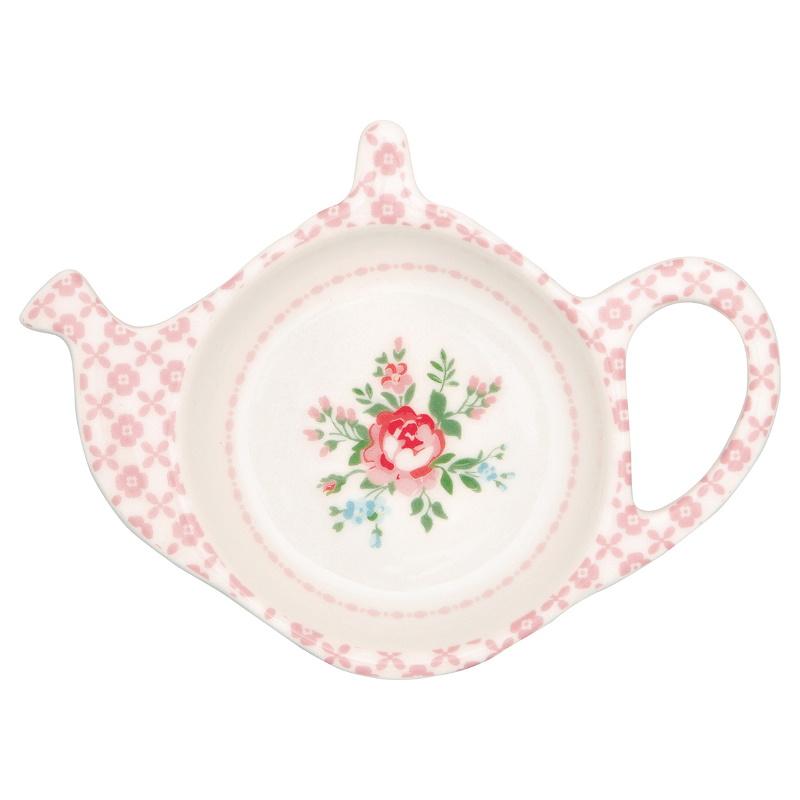 a14369x.jpg - Teabag holder Gabby, White - Elsashem Butiken med det lilla extra...