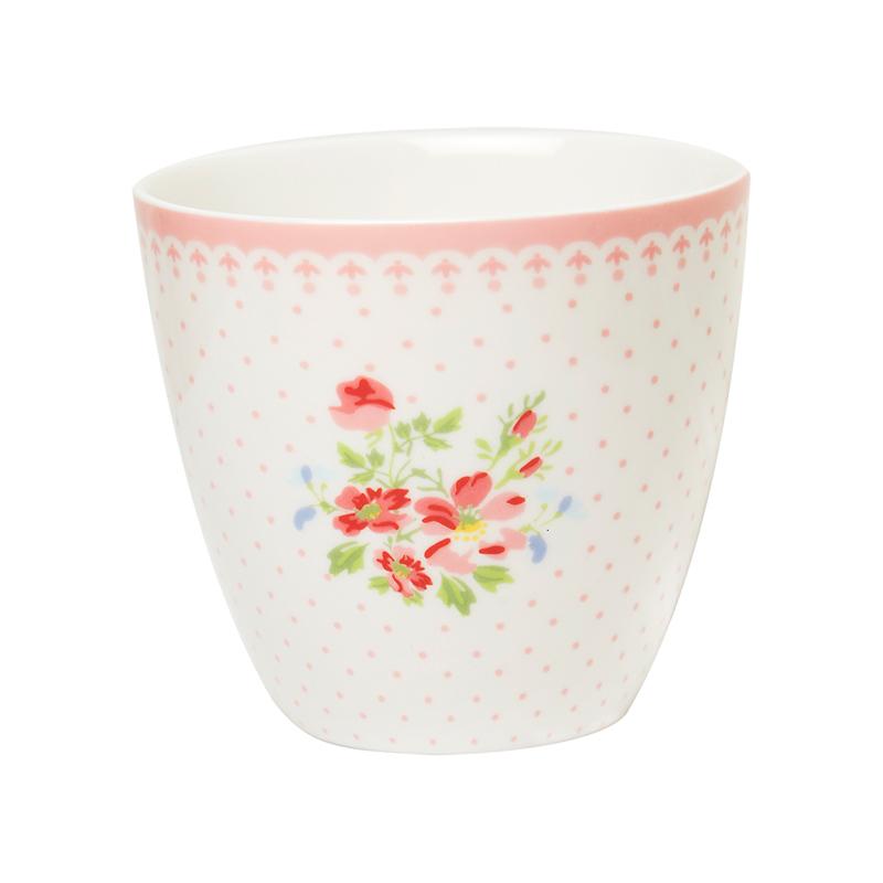 a14417x.jpg - Lattemugg Sinja, White - Elsashem Butiken med det lilla extra...