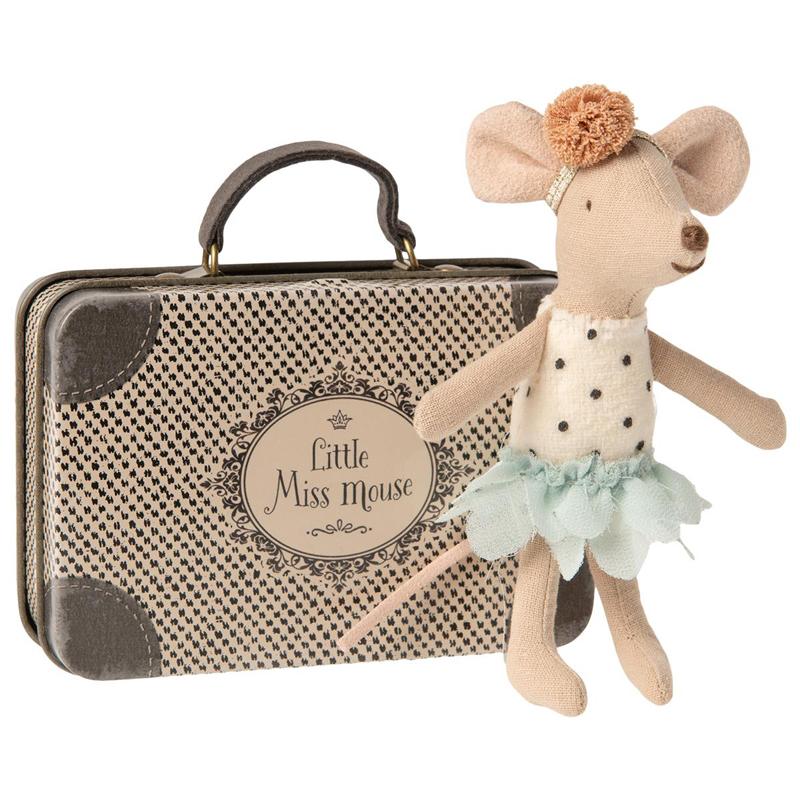 a14431x.jpg - Little miss Mouse i resväska - Elsashem Butiken med det lilla extra...