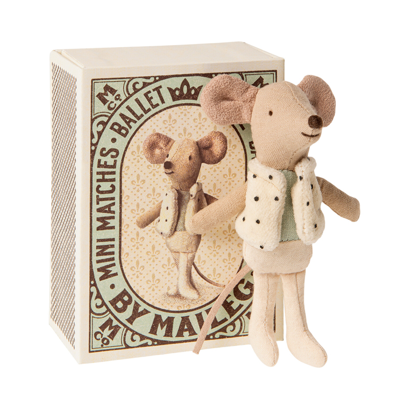 a14457x.jpg - Dancer in matchbox, Little brother mouse - Elsashem Butiken med det lilla extra...