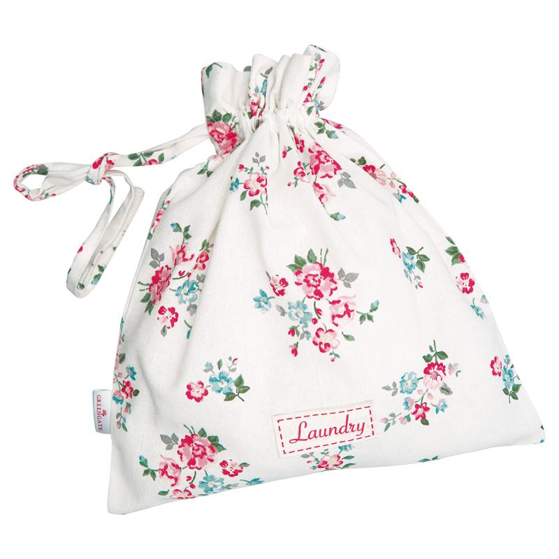 a14487x.jpg - Laundry bag Sonia, White small - Elsashem Butiken med det lilla extra...