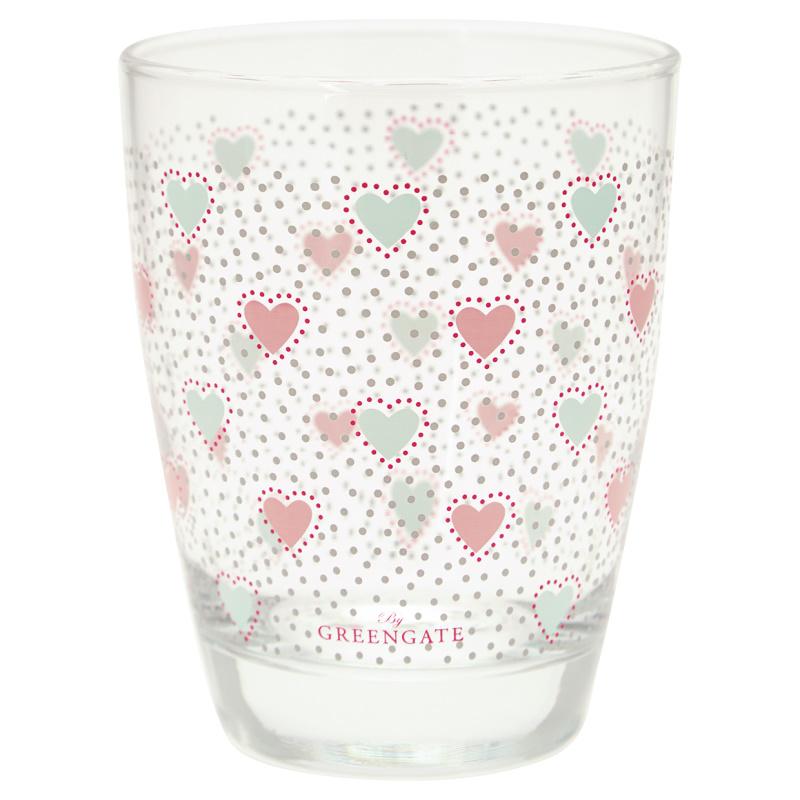 a14510x.jpg - Water glass Penny, White - Elsashem Butiken med det lilla extra...