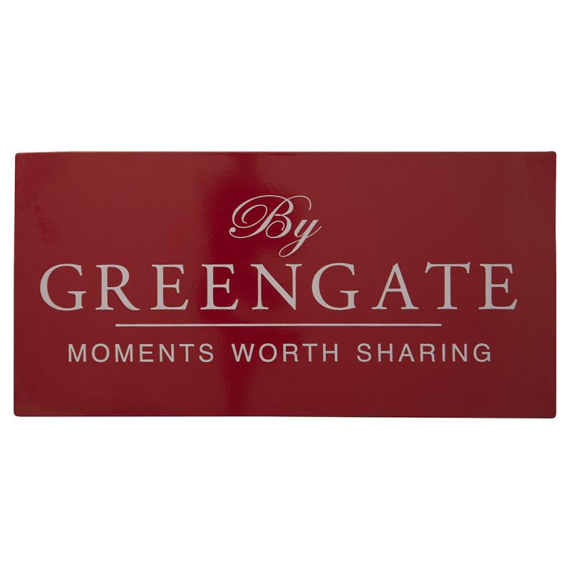 a14512x.jpg - Greengate Sign, Red - Elsashem Butiken med det lilla extra...