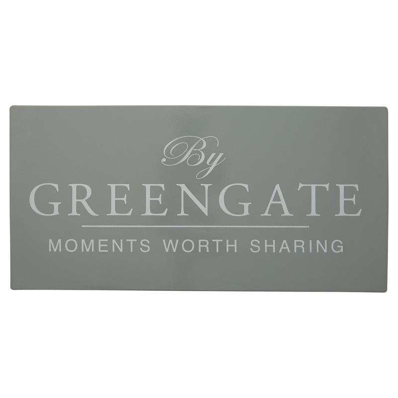 a14513x.jpg - Greengate Sign, Grey - Elsashem Butiken med det lilla extra...