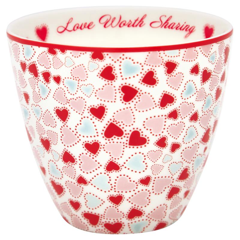 a14551x.jpg - Lattemugg Love, White - Elsashem Butiken med det lilla extra...
