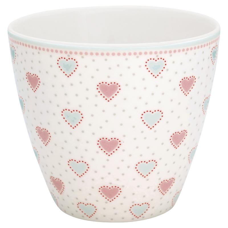 a14552x.jpg - Lattemugg Penny, White - Elsashem Butiken med det lilla extra...