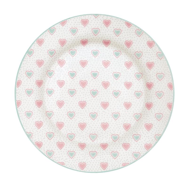 a14564x.jpg - Assiett Penny, White - Elsashem Butiken med det lilla extra...