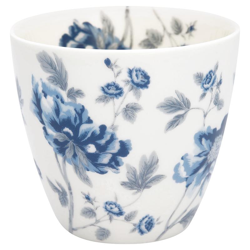 a14593x.jpg - Lattemugg Charlotte, White - Elsashem Butiken med det lilla extra...