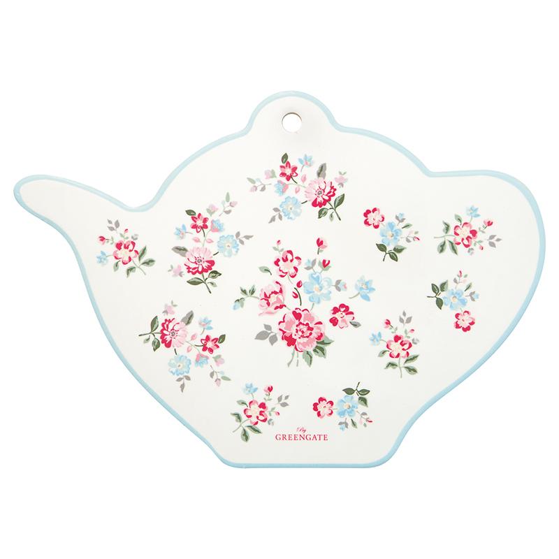 a14602x.jpg - Coaster teapot Sonia, White - Elsashem Butiken med det lilla extra...