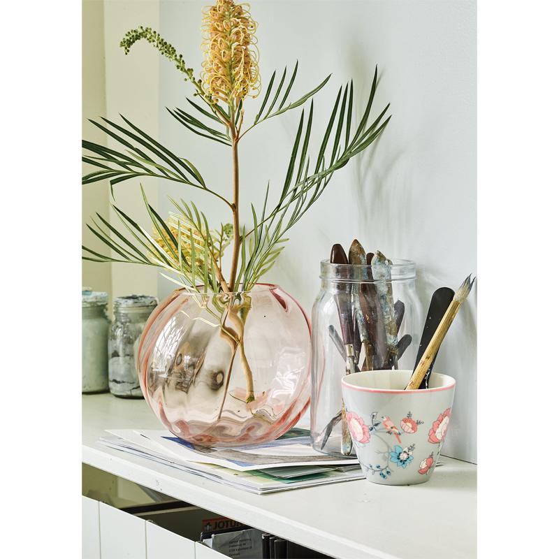 a14603-2x.jpg - Vase round, Pale pink - Elsashem Butiken med det lilla extra...
