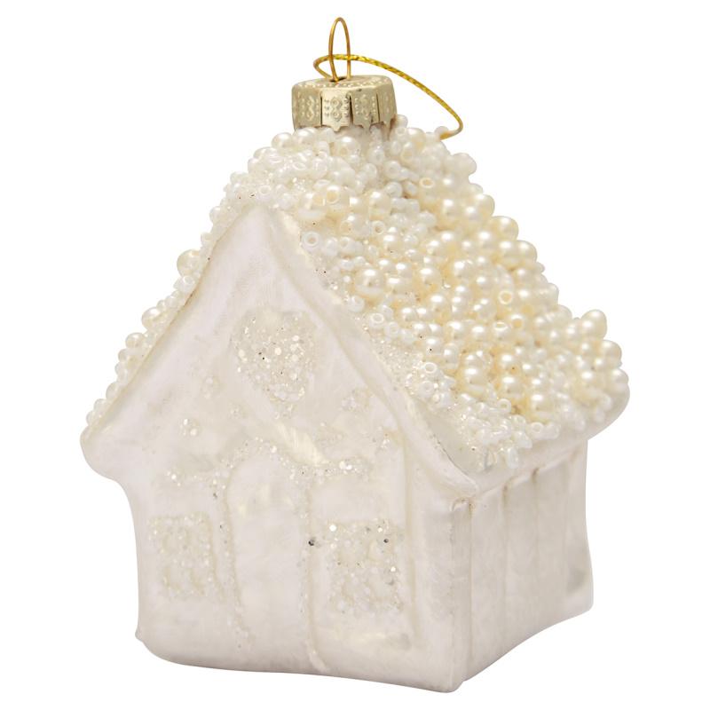 a14623x.jpg - Ornament glass House, White - Elsashem Butiken med det lilla extra...