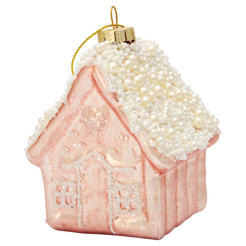 a14624x.jpg - Ornament glass House, Pale pink - Elsashem Butiken med det lilla extra...