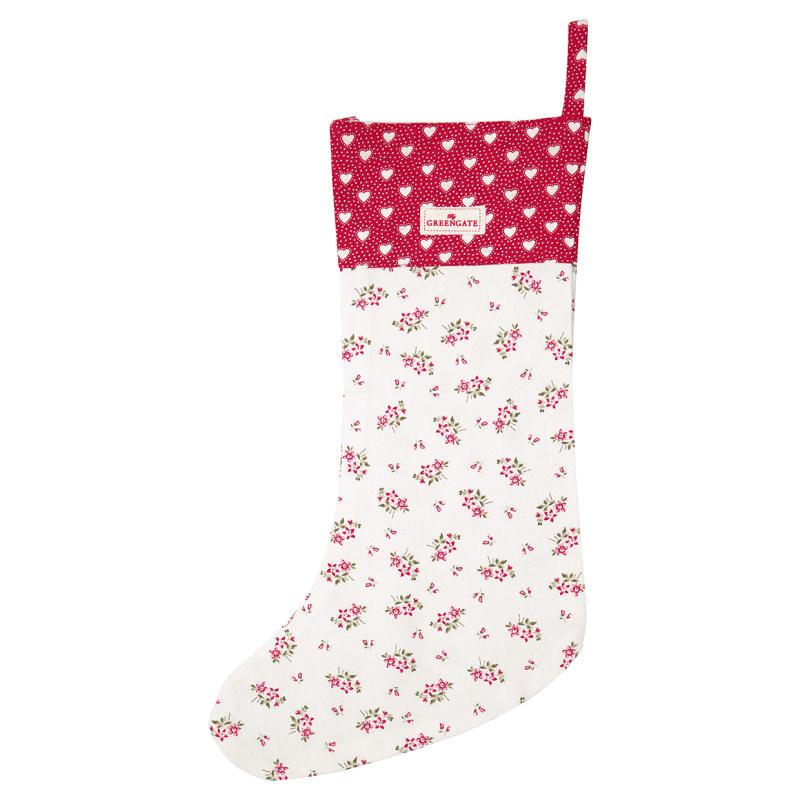 a14635x.jpg - Julstrumpa Avery, White - Elsashem Butiken med det lilla extra...