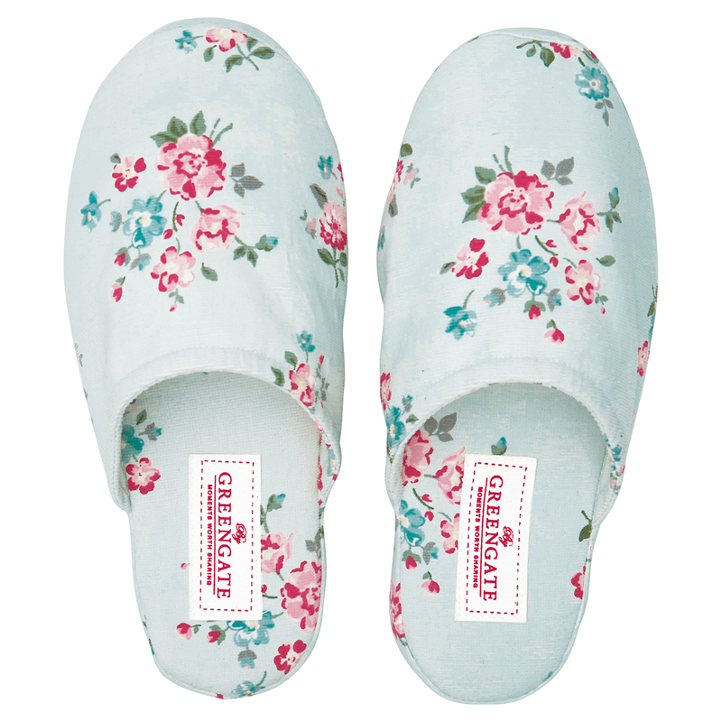 a14661x.jpg - Slippers Sonia, Pale blue medium/large - Elsashem Butiken med det lilla extra...