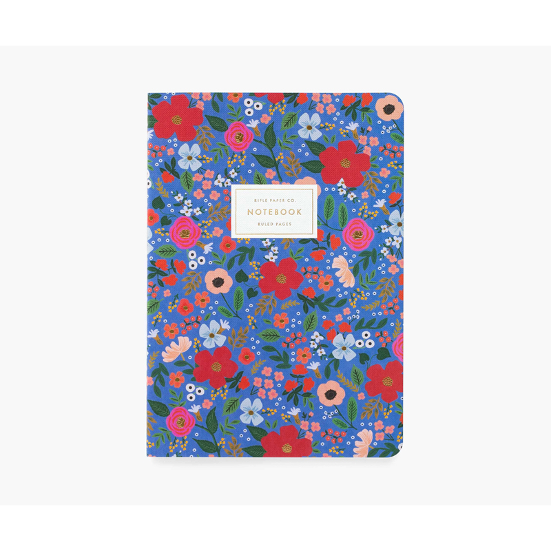a14726-2x.jpg - Set of 3 Wild Rose Stitched Notebook Set - Elsashem Butiken med det lilla extra...