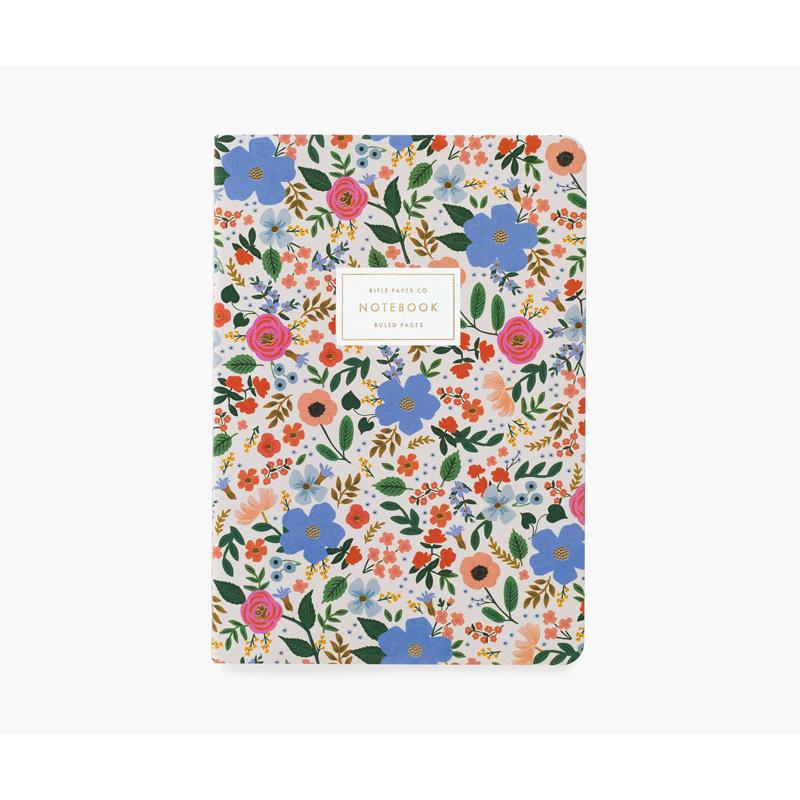 a14726-3x.jpg - Set of 3 Wild Rose Stitched Notebook Set - Elsashem Butiken med det lilla extra...