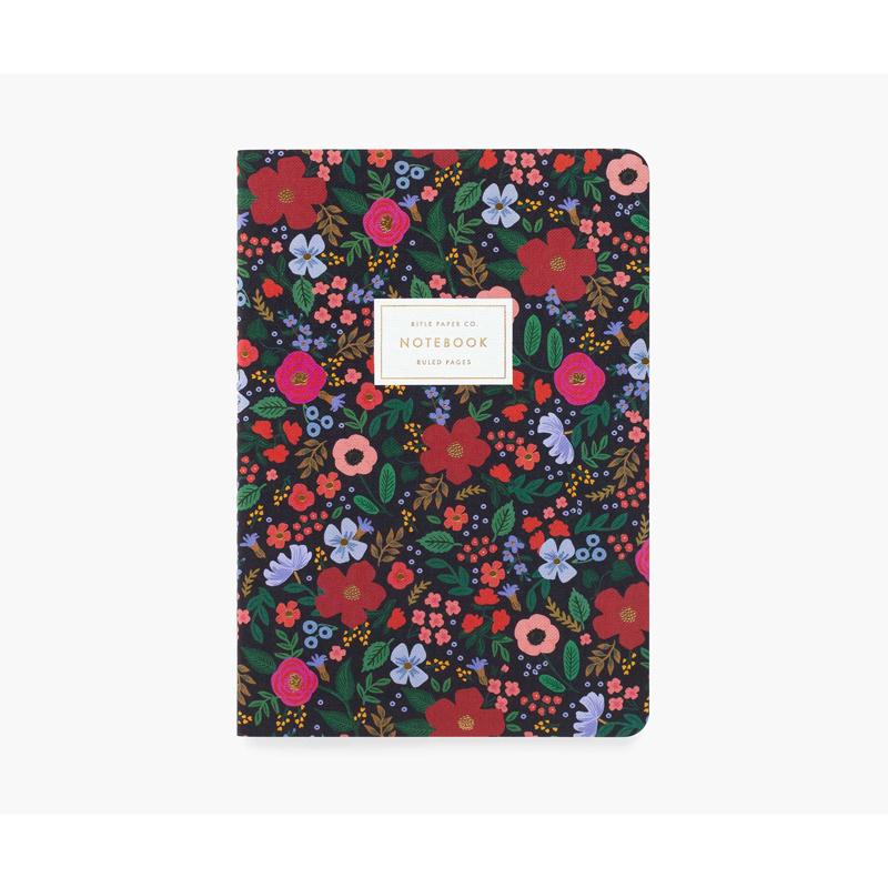 a14726-4x.jpg - Set of 3 Wild Rose Stitched Notebook Set - Elsashem Butiken med det lilla extra...