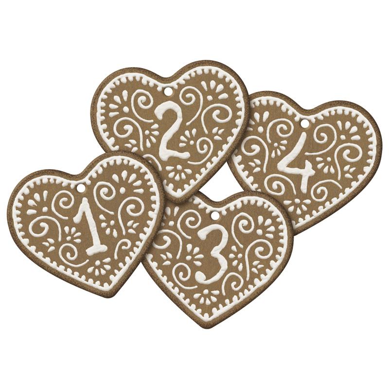a14734x.jpg - Gift tags, Gingerbread No. 1-4 - Elsashem Butiken med det lilla extra...