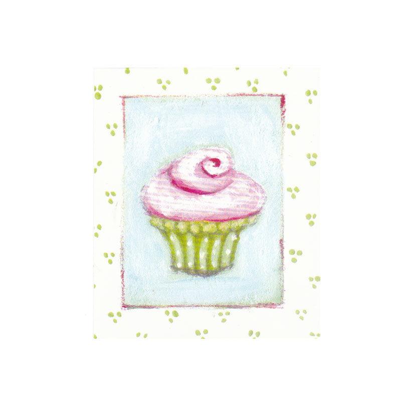 a4344x.jpg - Litet kort, Cupcake - Elsashem Butiken med det lilla extra...