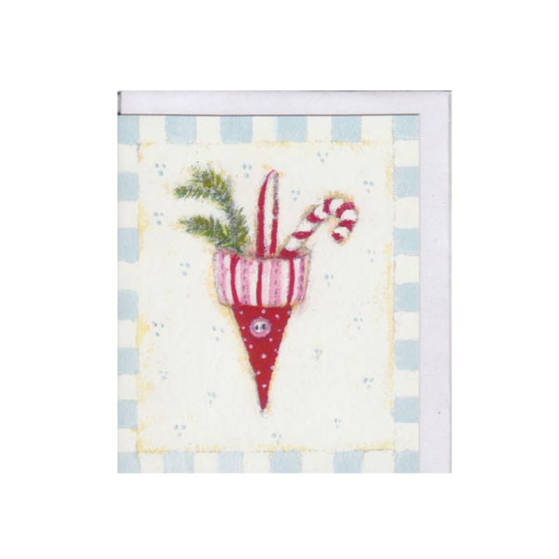 a4346x.jpg - Litet kort, Julstrut - Elsashem Butiken med det lilla extra...