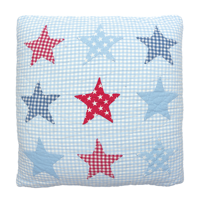 Kuddfodral 9 Stjärnor, ljusblå