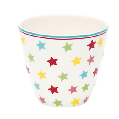 Lattemugg Star, multicolour
