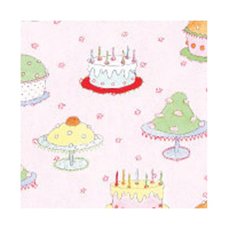 a5567x.jpg - Doris kort, Tårtor på rosa - Elsashem Butiken med det lilla extra...