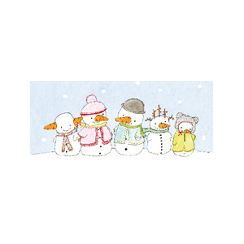 a5570x.jpg - Tore kort, Fem snögubbar - Elsashem Butiken med det lilla extra...