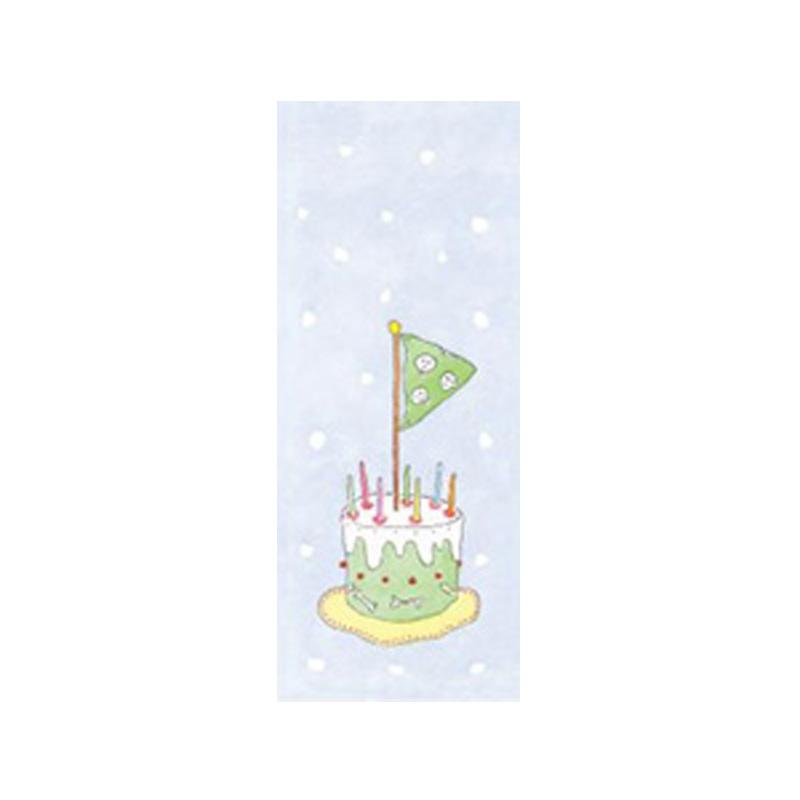 a5572x.jpg - Tore kort, Pirat tårta på blått - Elsashem Butiken med det lilla extra...